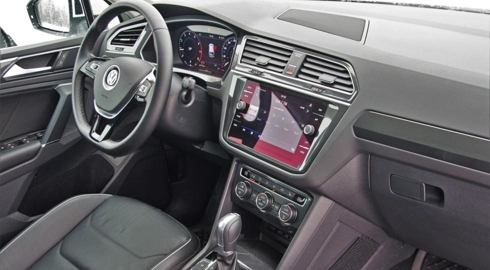 Искусство завлекать: тест-драйв Volkswagen Tiguan Sportline