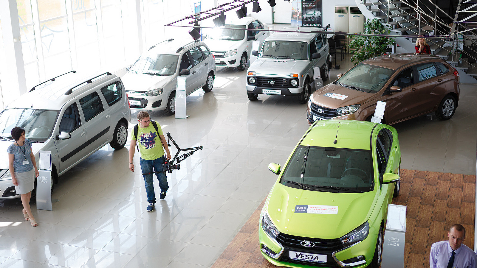 Всередине зимы продажи авто в Российской Федерации увеличились на31%