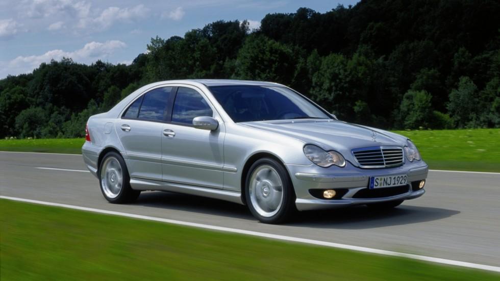 На фото: Mercedes-Benz AMG (W203) '2001–04
