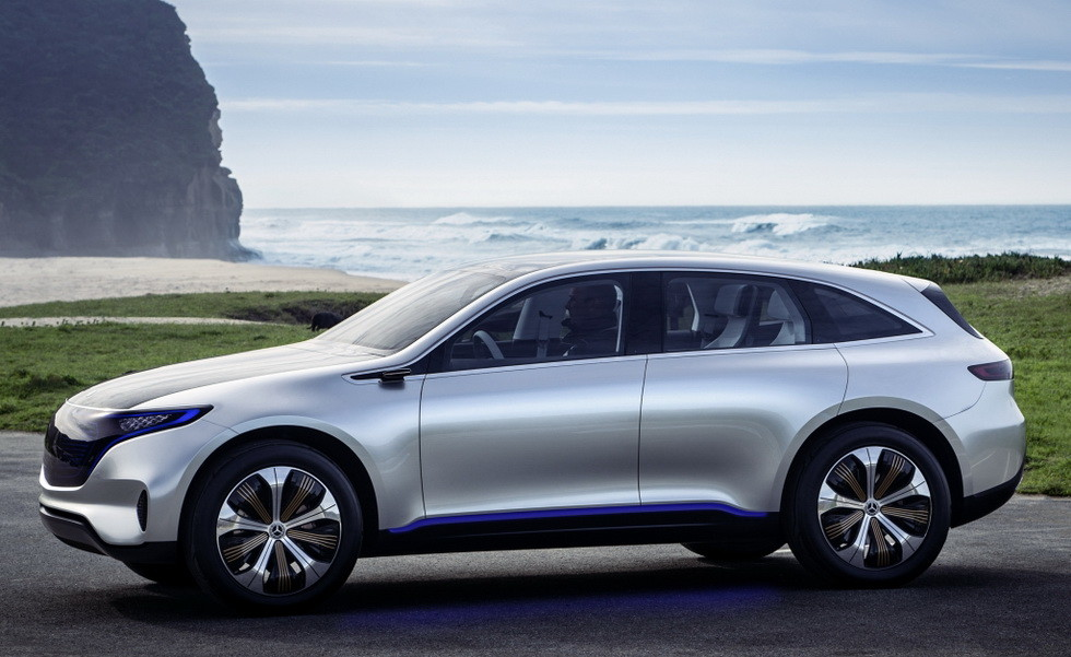 Концепт Mercedes-Benz Generation EQ 2016