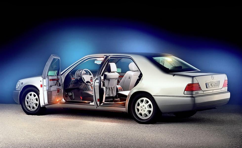 Mercedes-Benz S 600 L Guard 1995