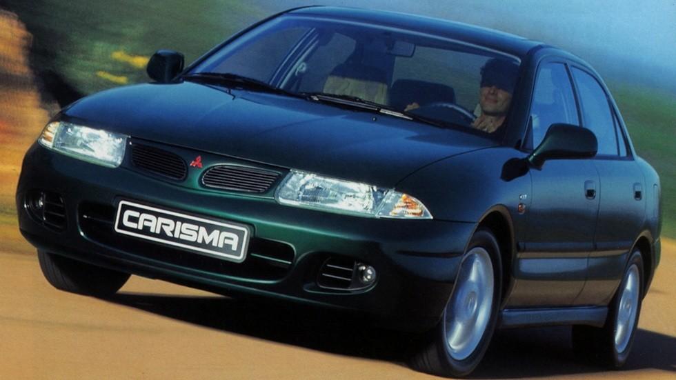 На фото: Mitsubishi Carisma Sedan '1996–99