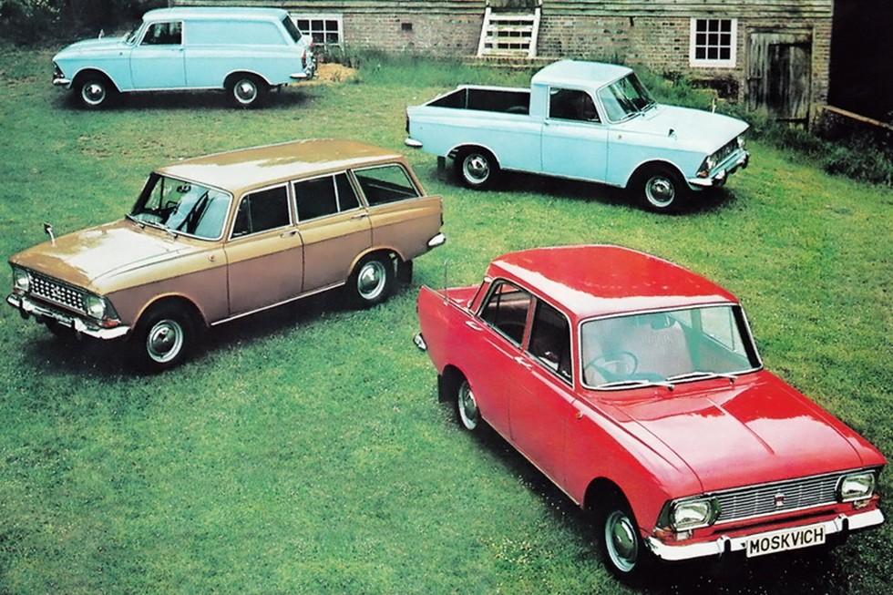 На фото: Москвич-412 '1964–75