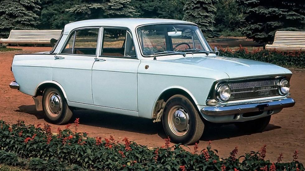 На фото: Москвич-412 '1969–82