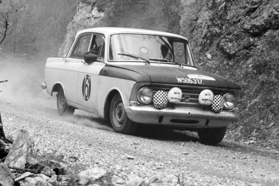 Москвич-412 Rally Group B '1967–75