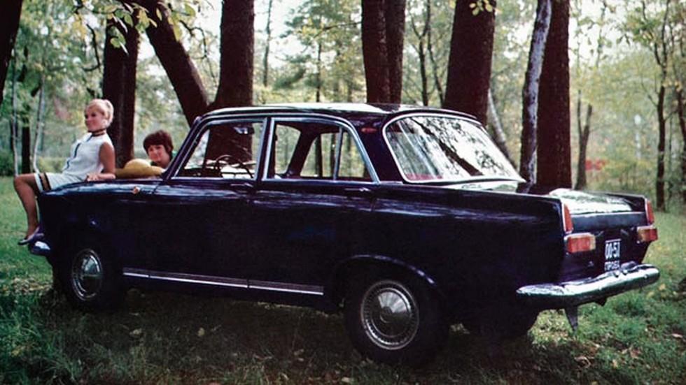 На фото: Москвич-412ИЭ '1967–68