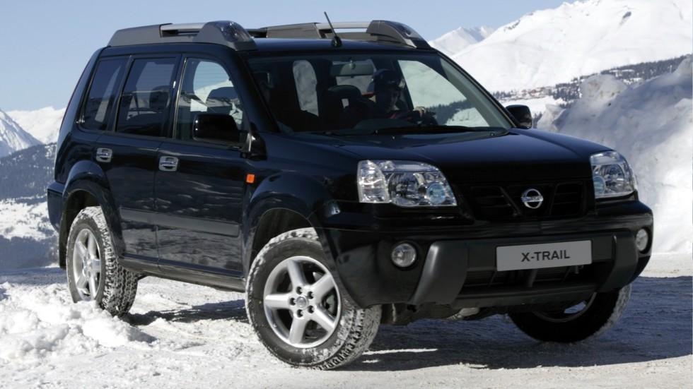 На фото: Nissan X-Trail (T30) '2001–04