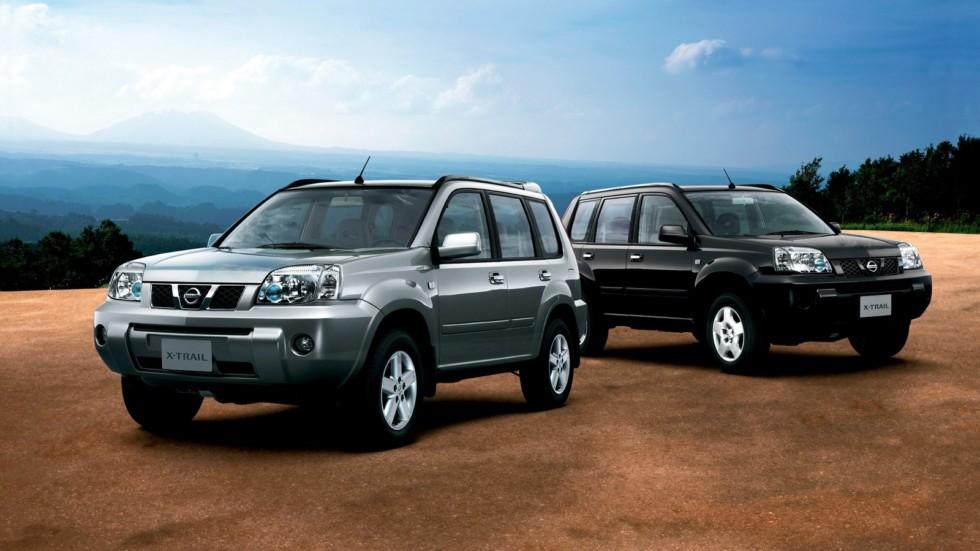 На фото: Nissan X-Trail '2004–07