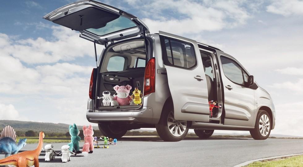 Опель представил фургон Combo Life новоиспеченной генерации