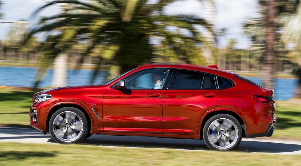 Кросс-купе BMW X4 нового поколения полностью рассекречено