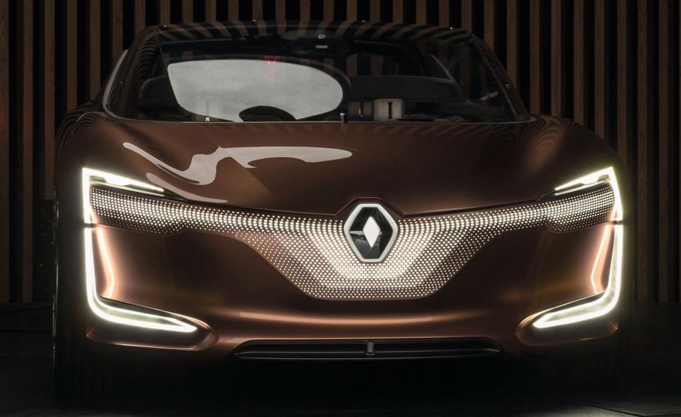 Концепт Renault Symbioz 2017