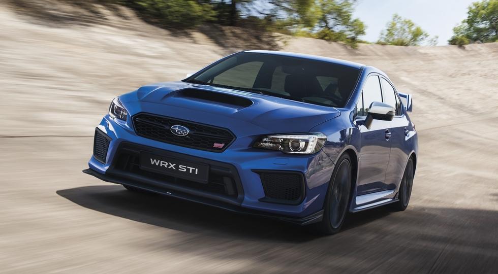 На фото: Subaru WRX STI