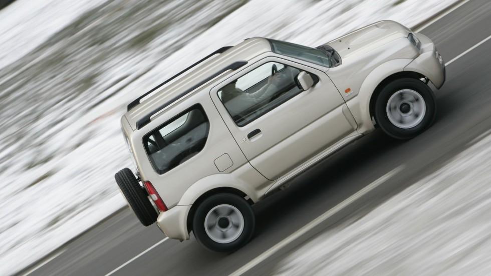 На фото: Suzuki Jimny '2006–12