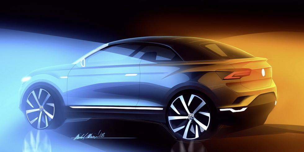 Volkswagen сделает из кроссовера T-Roc кабриолет за 80 млн евро
