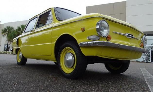 ВСША реализуют ЗАЗ-968 1978 года сукраинскими номерами за14 000 долларов