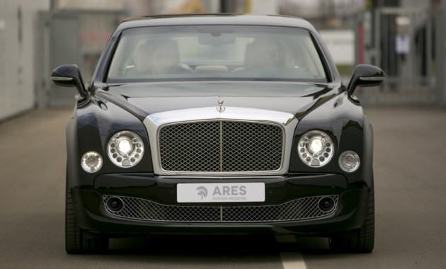 В Ares Design убрали Bentley Mulsanne задние двери