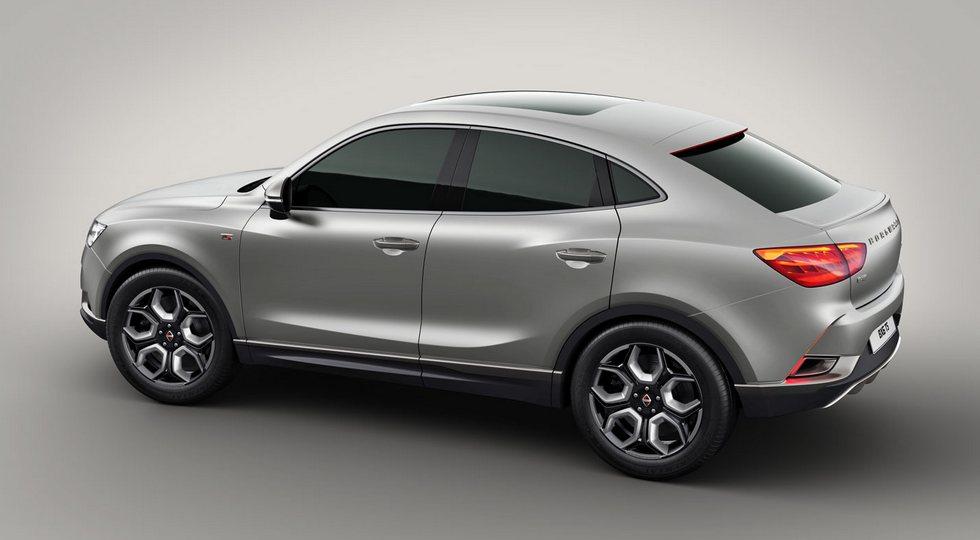 Серийное кросс-купе Borgward BX6 представят в апреле