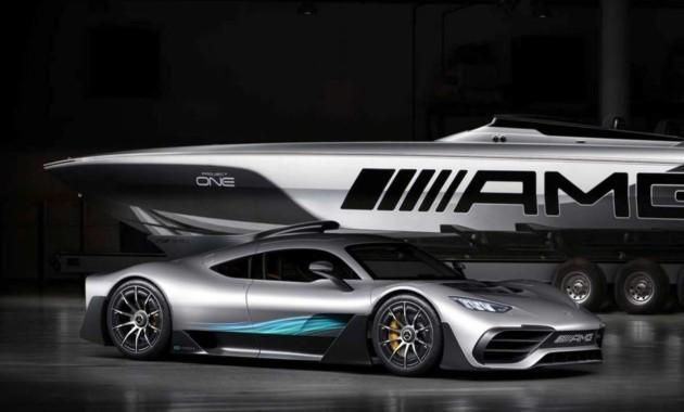 Гиперкар Mercedes-AMG Project One получил водную версию