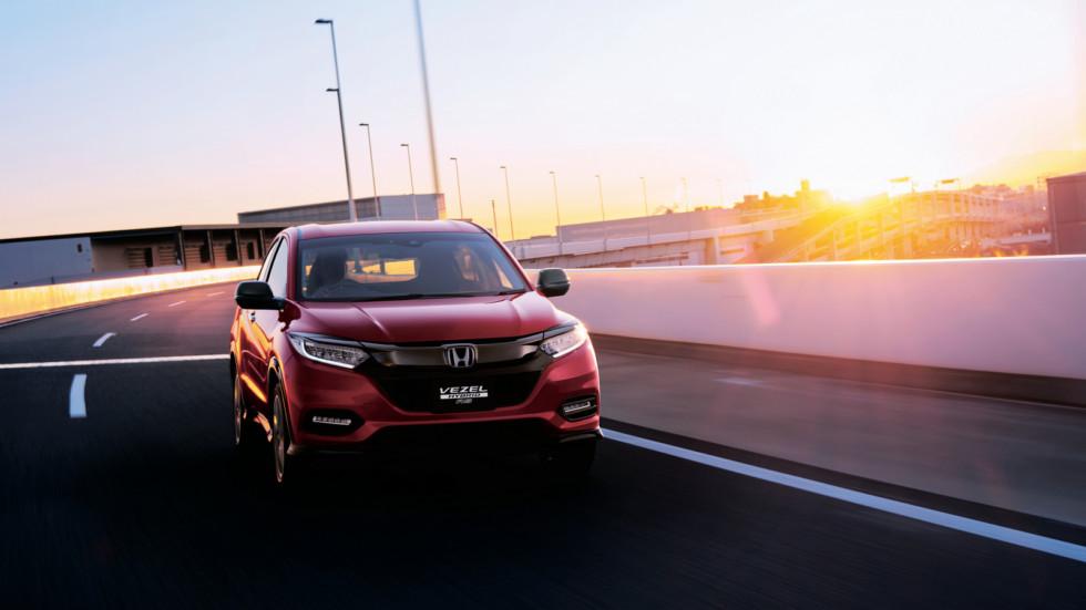 Honda обновила кроссовер Vezel
