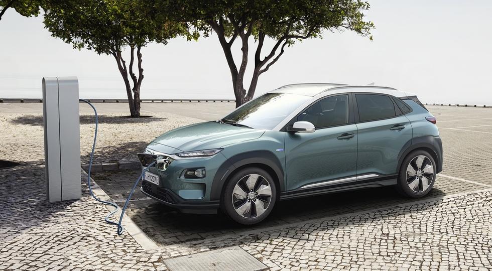 Кроссовер Hyundai Kona Electric представлен официально