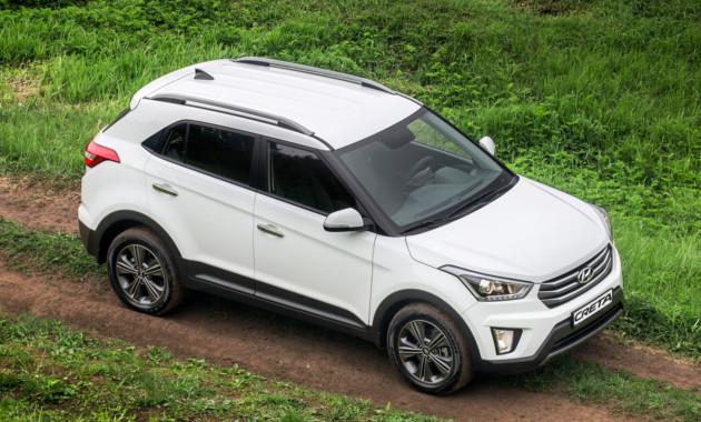 Hyundai Creta возглавил продажи на рынке Санкт-Петербурга