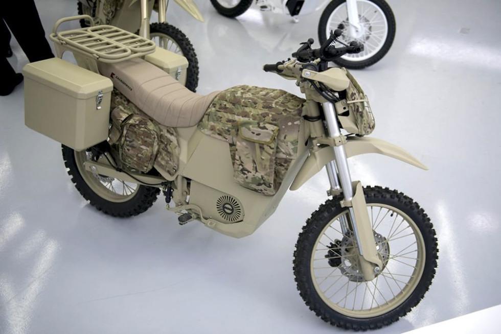 Первые электромотоциклы Иж Минобороны получит весной