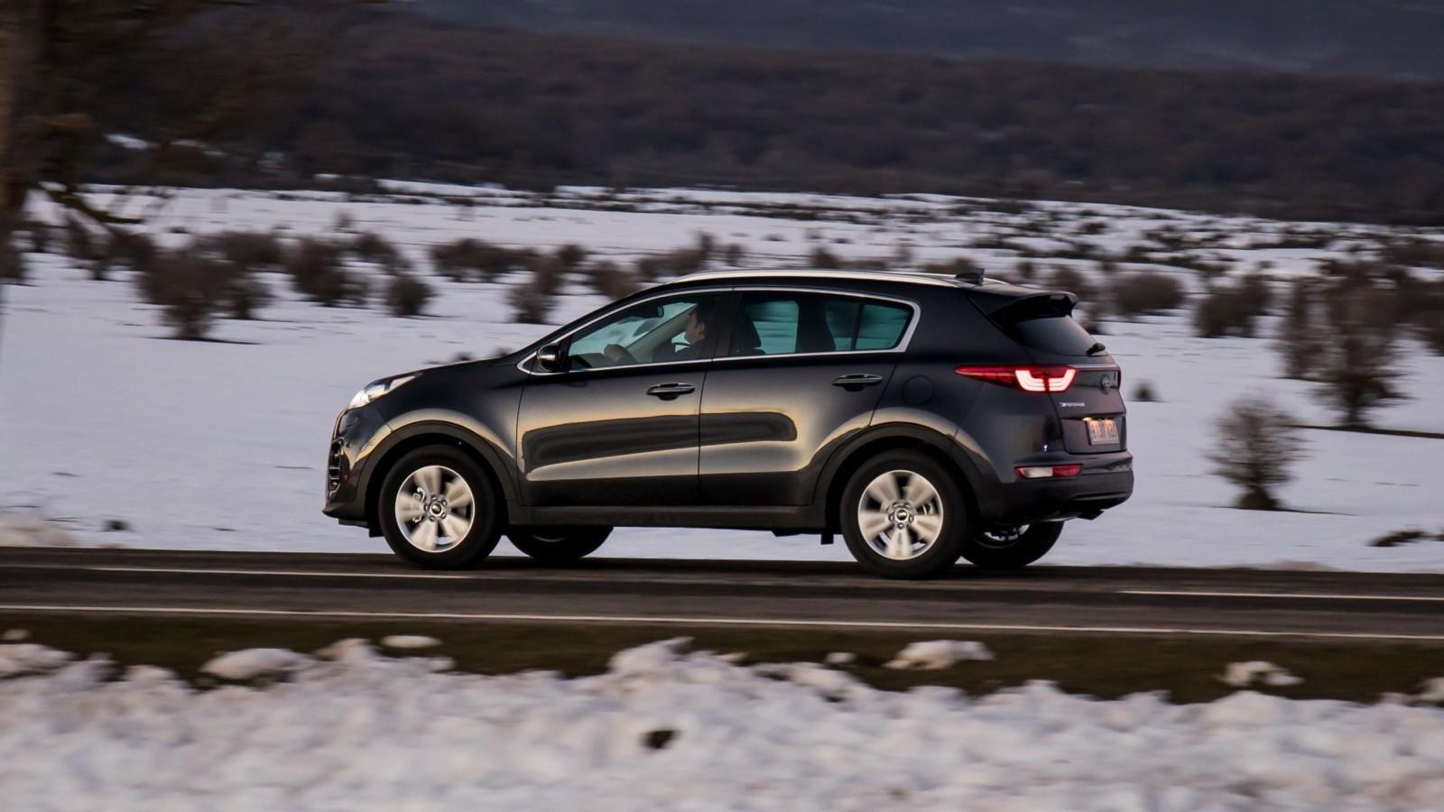 Кия Sportage всередине зимы стал 2-ой попопулярности моделью SUV в Российской Федерации