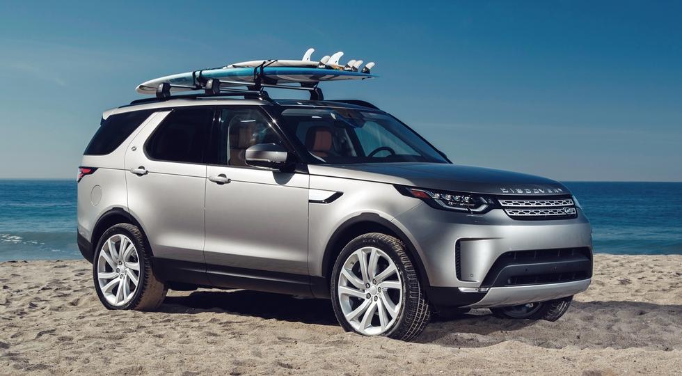На фото: Land Rover Discovery