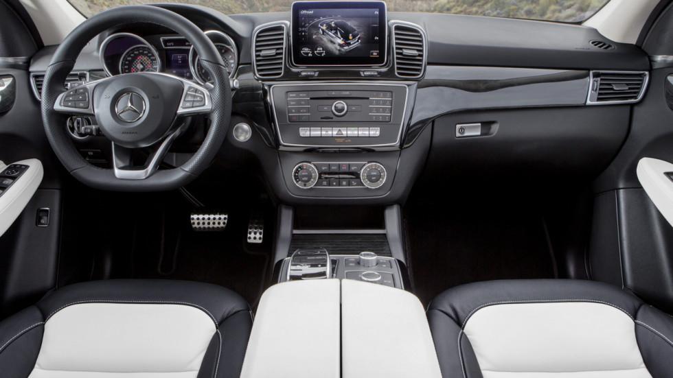 Новый Mercedes-Benz GLE: появилось свежее видео