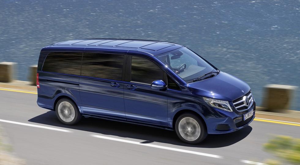 На фото: Mercedes-Benz V-Class