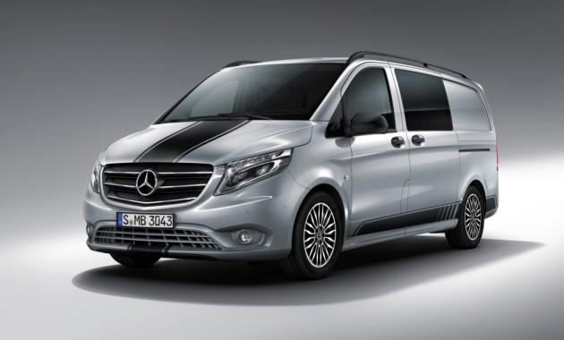 Benz весной привезет в РФ спортивный минивэн Vito Sport Line