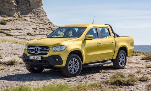 Пикап Mercedes-Benz оценили втри миллиона рублей