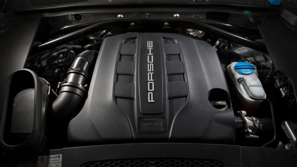 Дизель 3.0 V6 под капотом Porsche Macan