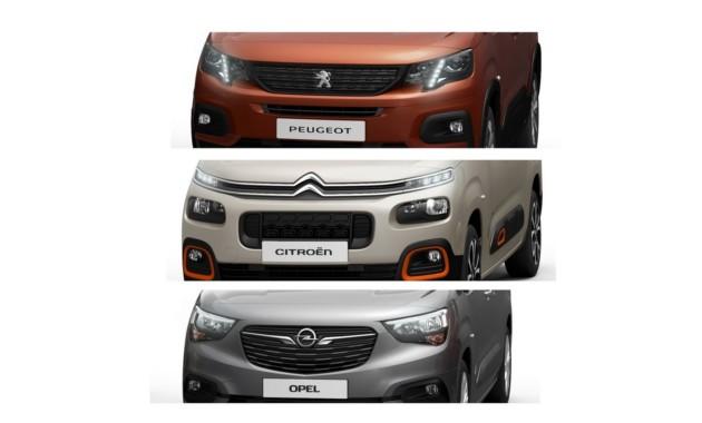 Концерн PSA анонсировал новые Citroen Berlingo, Peugeot Partner и Opel Combo