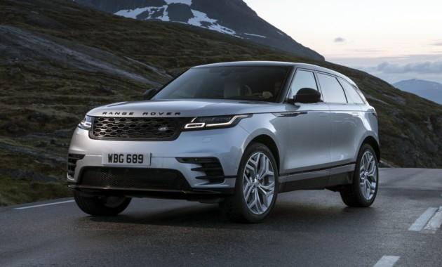 Кроссовер Range Rover Velar стал бестселлером Land Rover в РФ