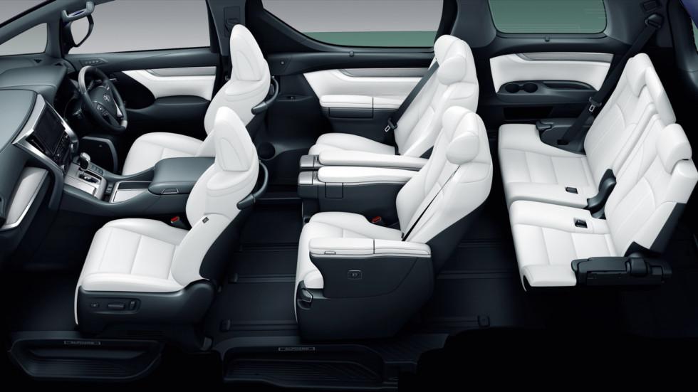 Toyota Alphard (японская версия)