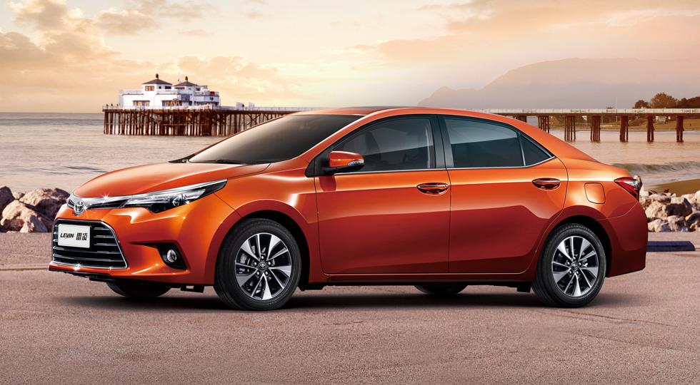 На фото: Toyota Levin