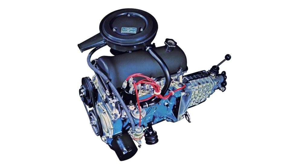 Мотор Жигулей получил не только новую конструкцию, но и другую геометрию
