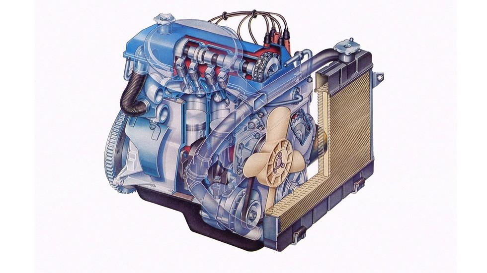 Наша взяла: ключевым отличием советской машины от итальянского исходника стал двигатель с верхним распределительным валом