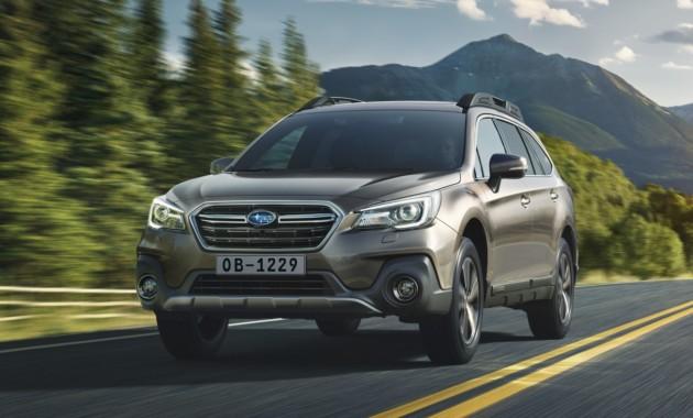 Subaru привезет в Россию обновленный Outback