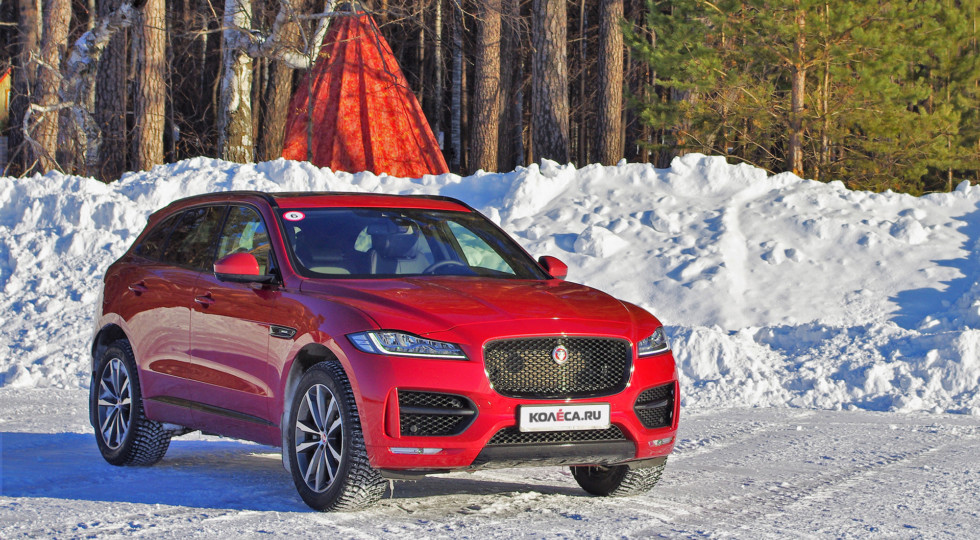 Ирбис поневоле: зимний тест-драйв Jaguar F-Pace 2,0