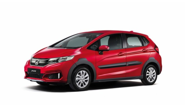 Honda представила кросс-версию Jazz