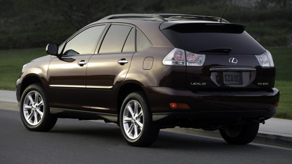 На фото: Lexus RX 350 '2006–09