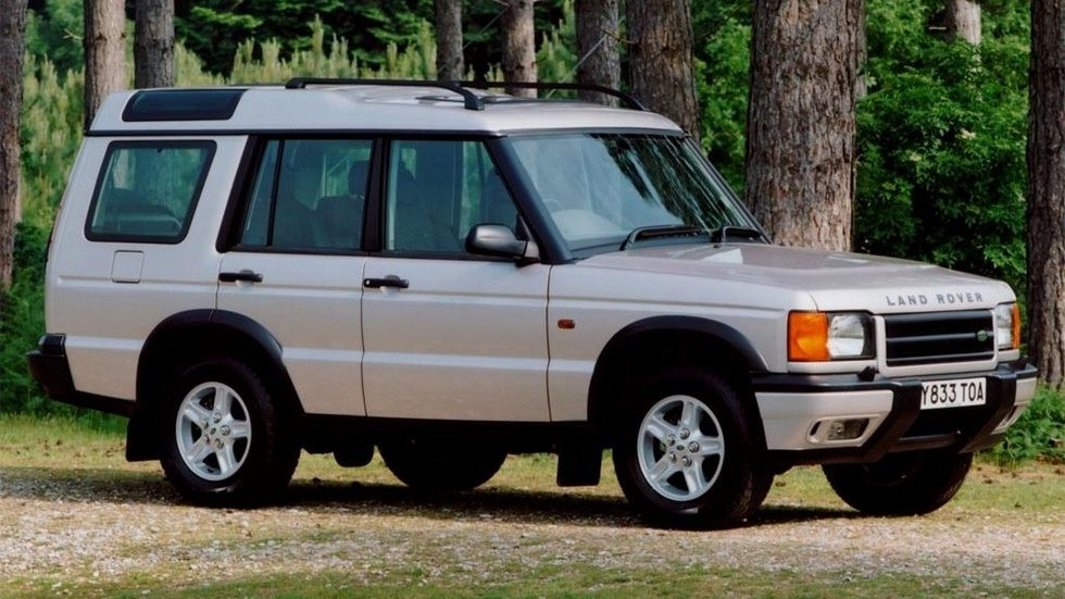 1Land Rover Discovery Series II UK-spec '1998–2003