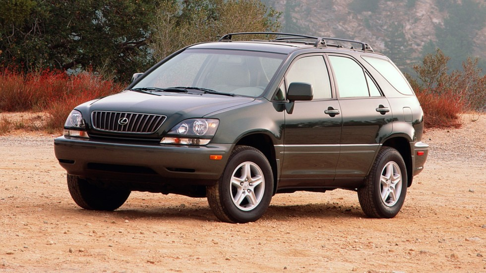 На фото: Lexus RX 300 '1998–2000