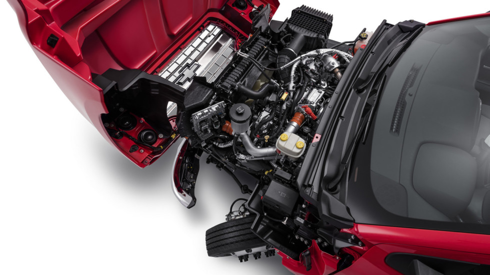 Easy to Service: the Chevrolet Silverado features a lightweight,