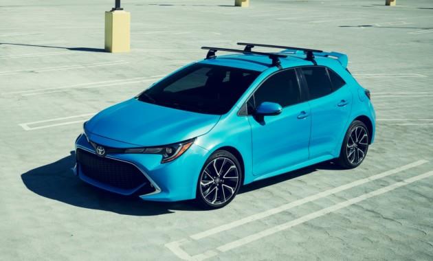 Тойота рассекретила новый хэтчбек Corolla