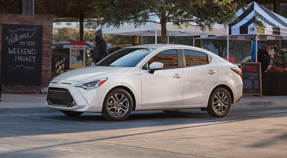 Тойота показала седан Тоёта Yaris 2019 модельного года