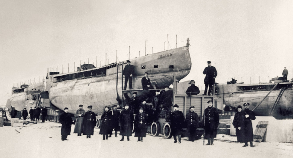 "Подводная лодка ""Налим"""