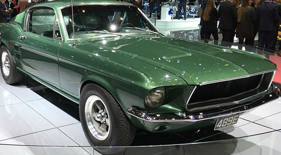 На фото: Ford Mustang GT 1968 года